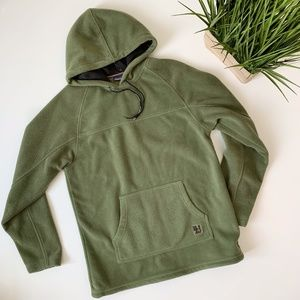 b.u.m. equipment vintage fleece sweatshirt sage gr